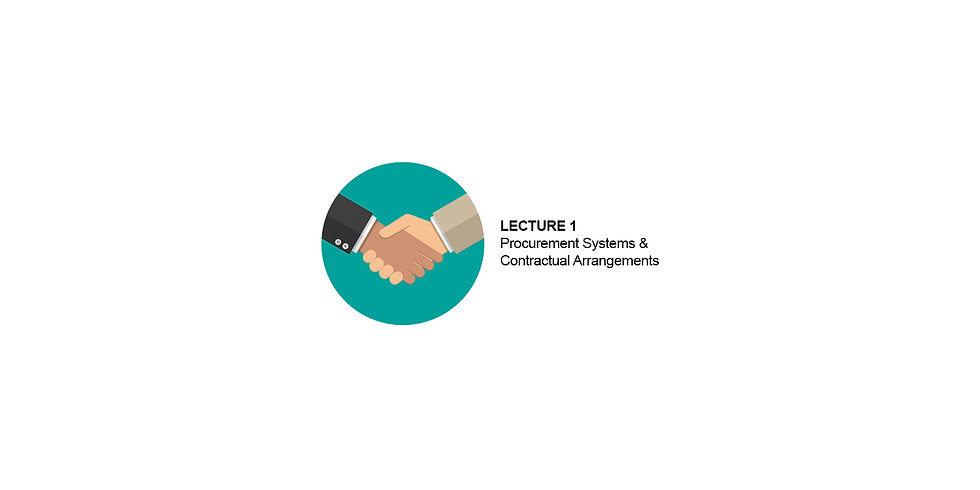 Contract Management & the Local Contract Forms: Lecture 1
