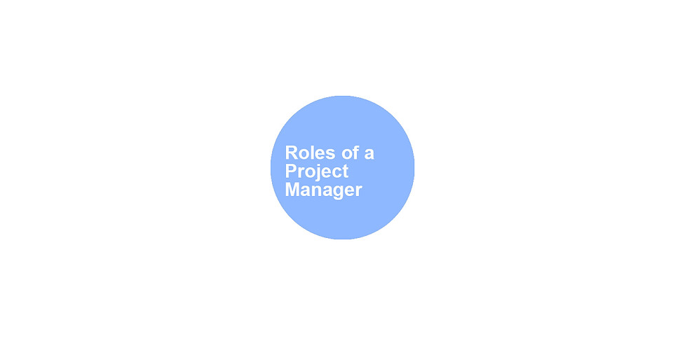 Roles of a Project Manager: Part 1