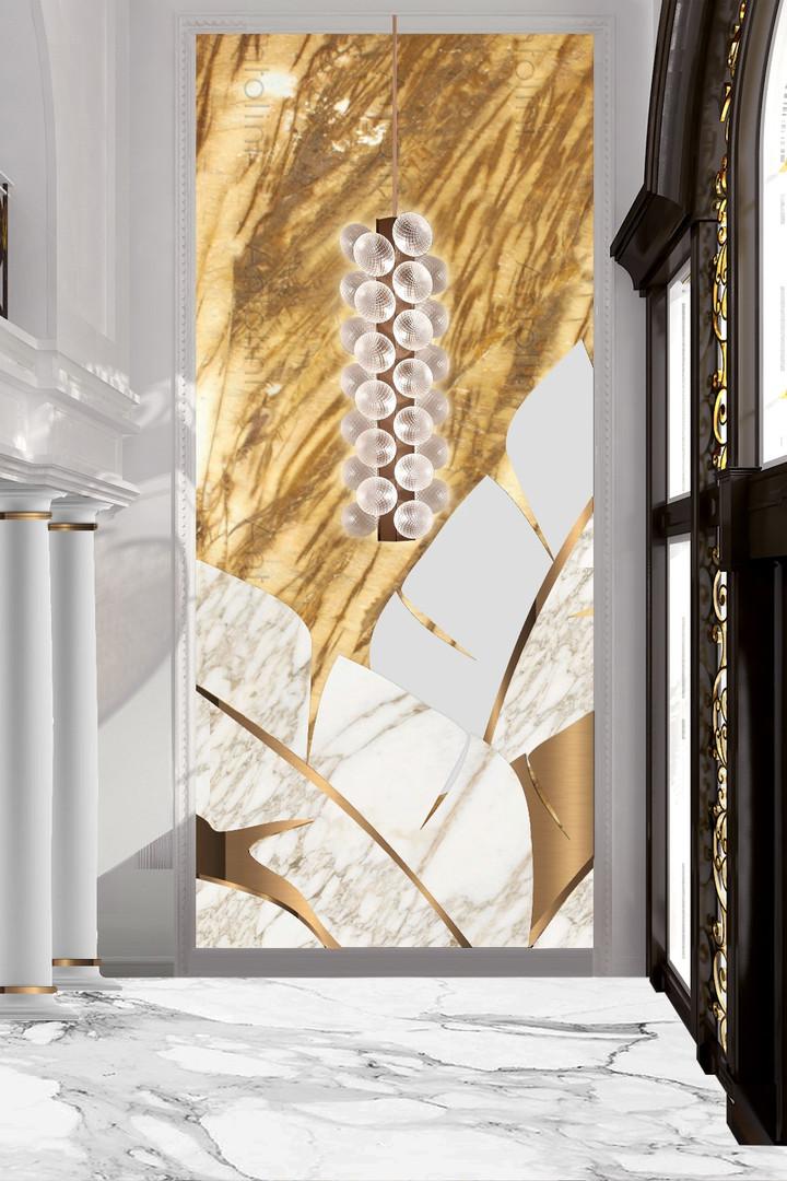 Golden Marble Entrance