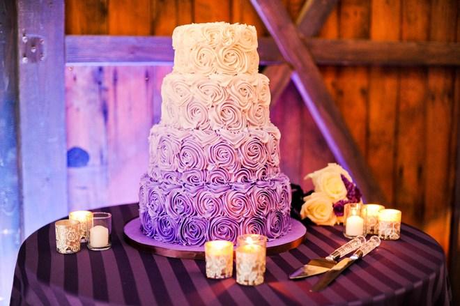 Lighted Wedding Cake