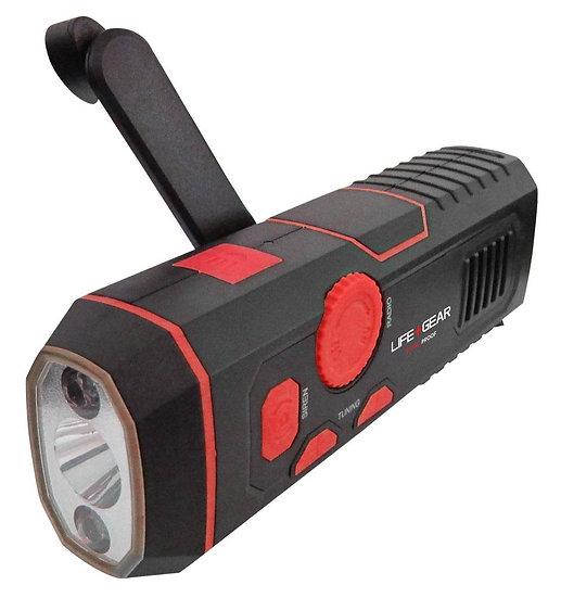 Stormproof Crank Radio Light