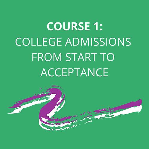 College Prep Bootcamp: Course 1