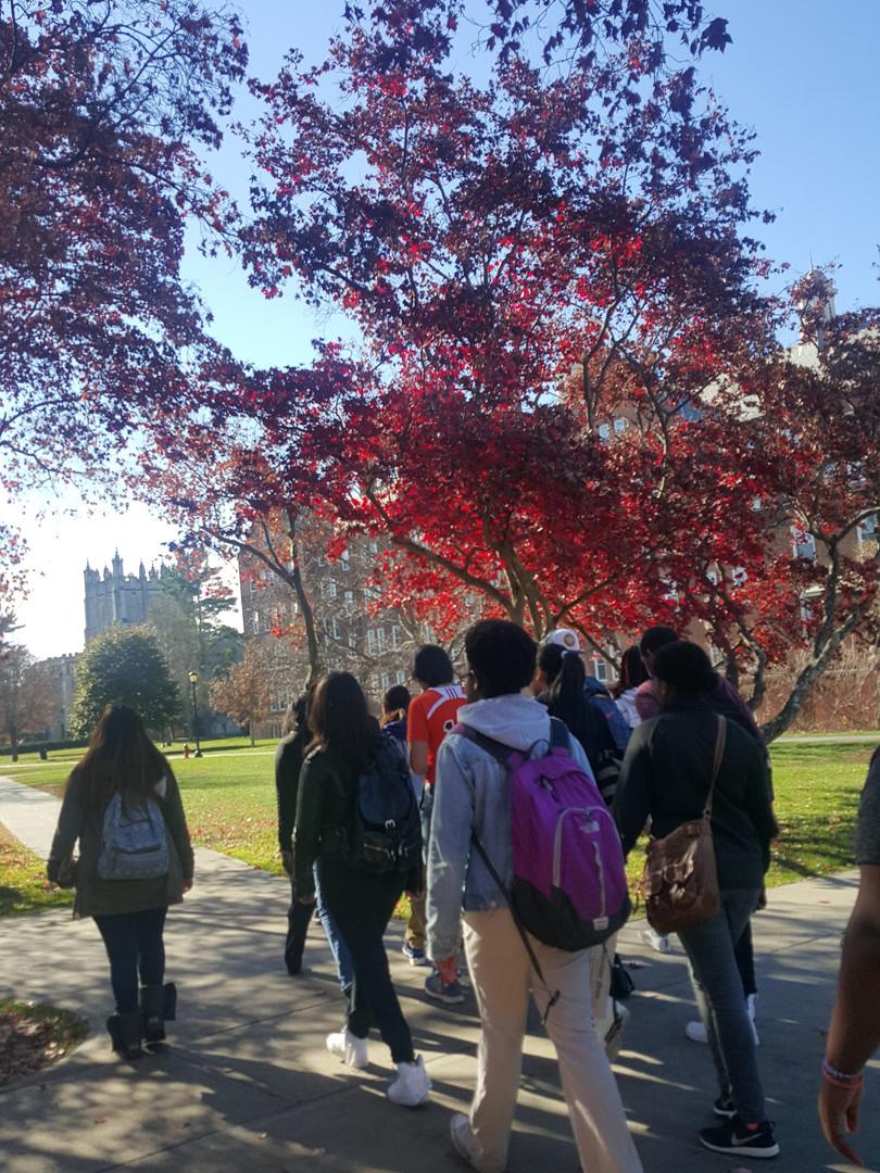 college campus tour