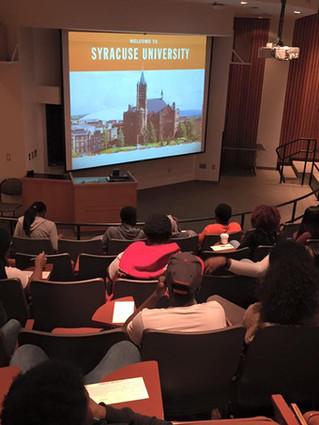 college advisor presentation