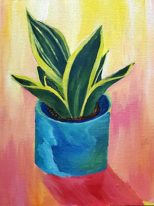 Snake plant print