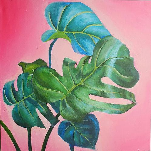 Mona Leafa print