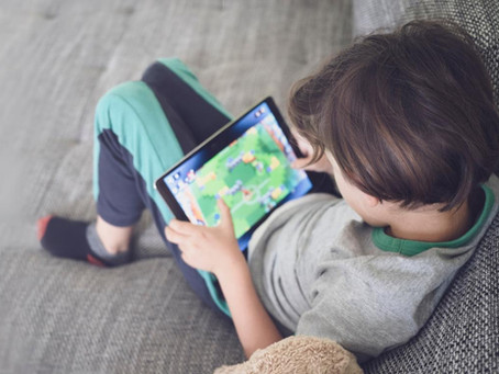 Eye Strain in Children Due to Excessive Screen Use