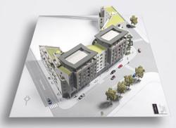 Maquette immobilière