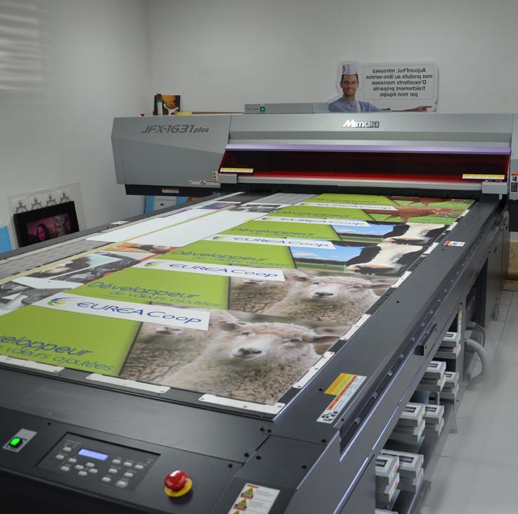Imprimante à plat