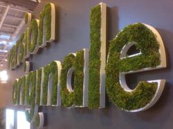 Logo végétalisé