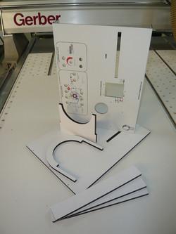 Usinage PVC