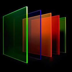 Plexi couleur découpe laser