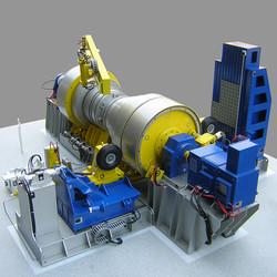 Maquette industrielle
