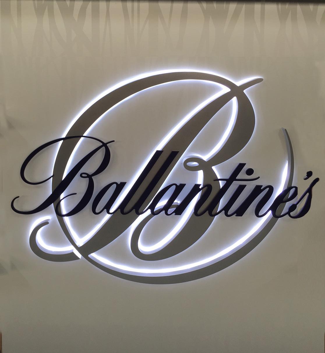 Logo de marque lumineux