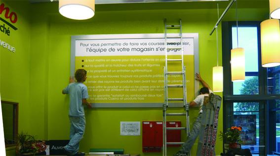 Installation cadre