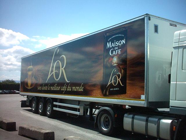 Habillage camion