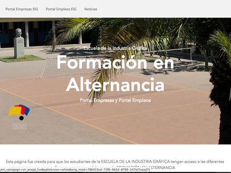 Creación de una nueva página para agilizar la búsqueda de empresas en la EIG