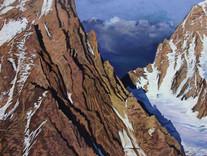 Der Gipfel schweigt (Chardonnet-Gletscher)