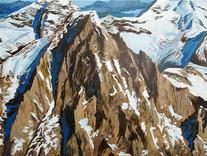 Der Gipfel schweigt (Bietschhorn) 2010_50x