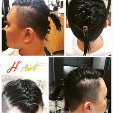 Just for fun! #mensbraids #coolness #top