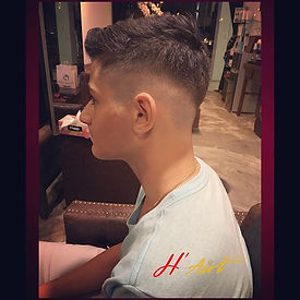 I usually don't do fashion cuts, but if