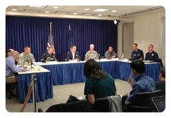 FEMA, State, Local Press Briefing I orga