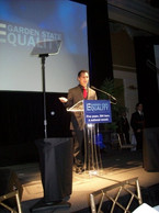 Speaking at the Garden State Equality