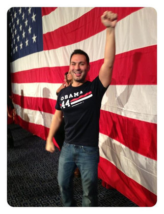 Victory! Election Night 2012