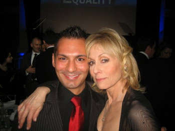 Me with friend Judith Light
