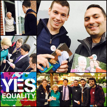 Campaigning for marriage equality
