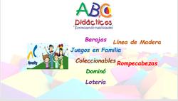 Contenido Catálogo JUEGOS NOVELTY