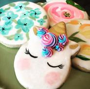 Sugar cookies! #unicorn #cookiefavors #s