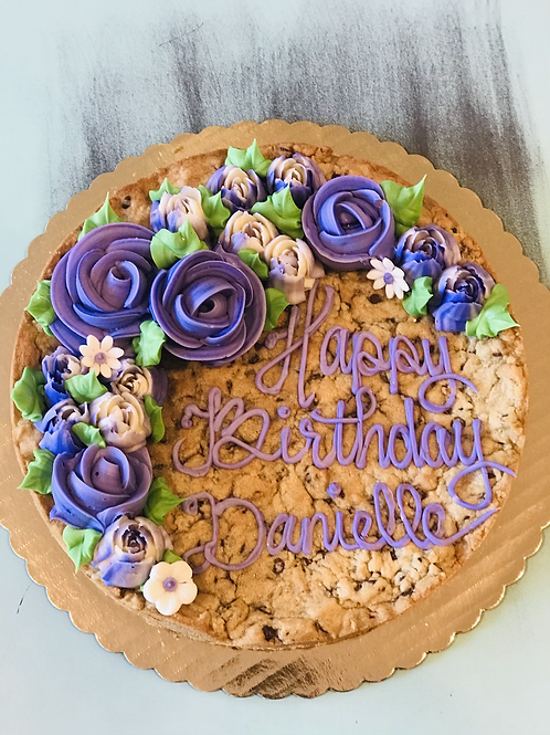 "10"" Chocolate Chip Cookie Cake"