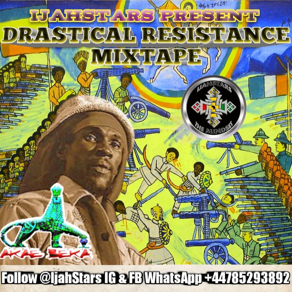 Akae Beka Vaughan Benjamin Midnite Drastical Resistance MixTape, mix by IjahStars THE MINDSET 2020