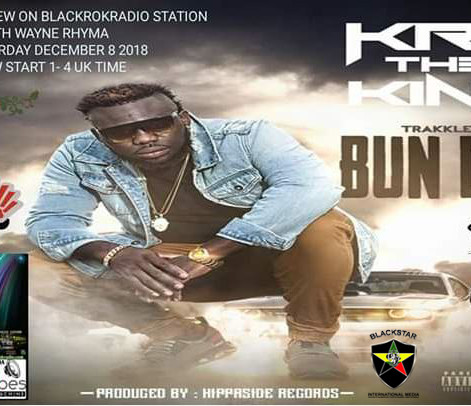 KRE The King Interview On Black Rok Radio Station With Wayne Rhyma