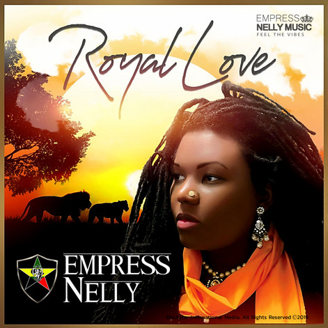 "Empress Nelly's  Brand New EP  ""Royal Love"" On Sale Now! #royallove 💖#feelthevibes ❤️🖤💚❤️💛💚"