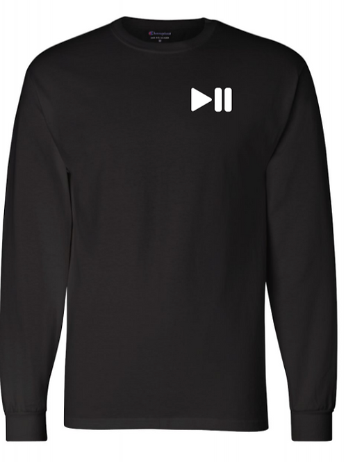 Pause/Play Champion Long Sleeve