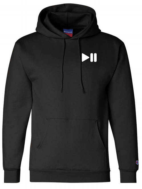 Pause/Play Champion Hoodie