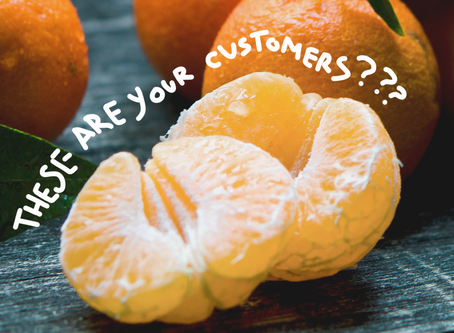 Segmentation 101: Looking at your customers like they are mandarins