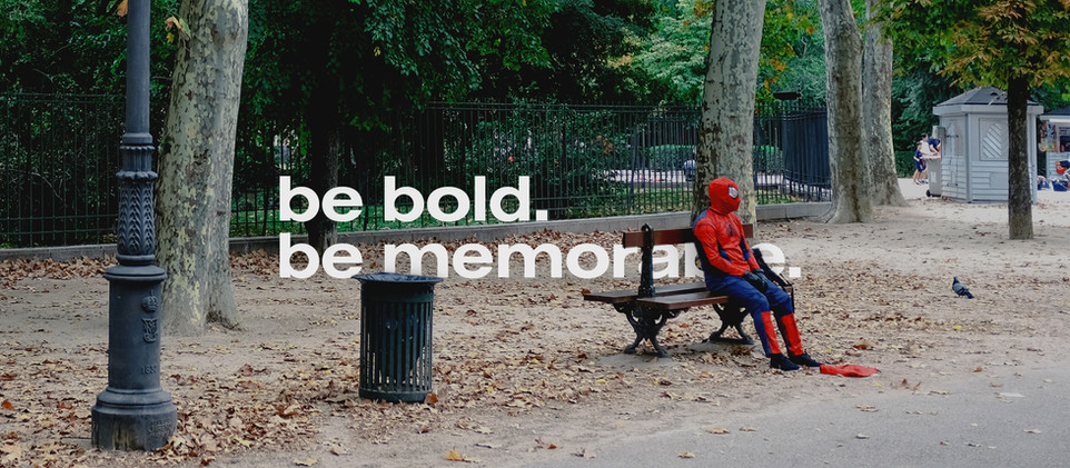 Small Business Branding | Be bold. Be memorable.