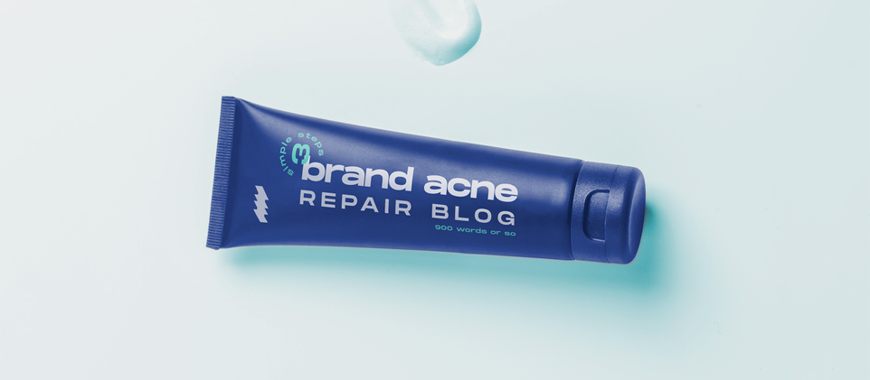 How to Clear Brand Acne in 3 Steps