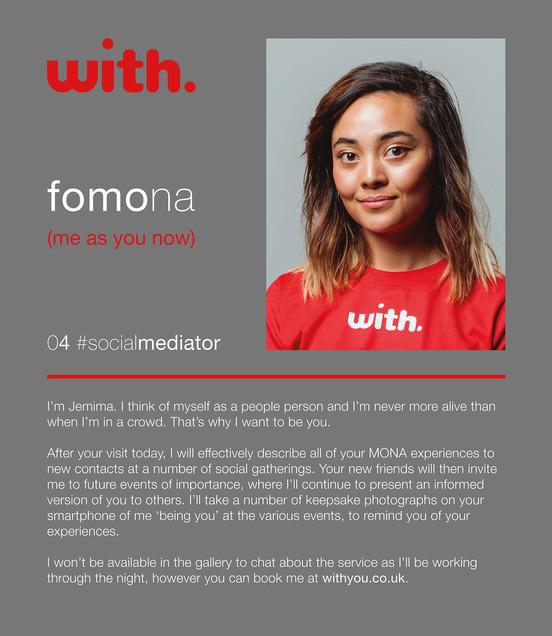 with solutions #61, Fomona (Social Mediator), 2019