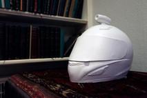 Plaster cast Helmetcams. 2013
