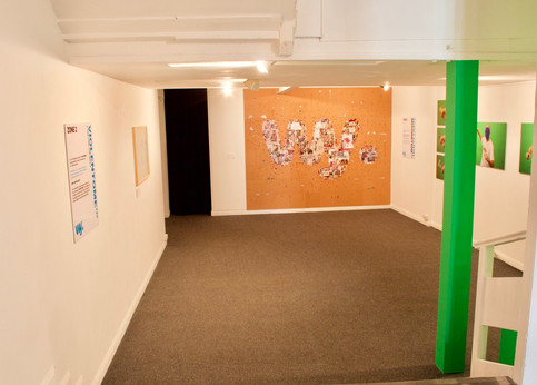 Violentome Zone 2, Agent Absorption. (Installation view)