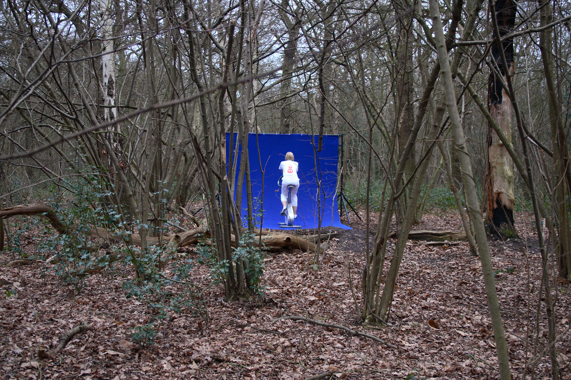"HOMESPACE™ (ANON :""In the woods near my home"") 05:02:07. WITH, 2007."