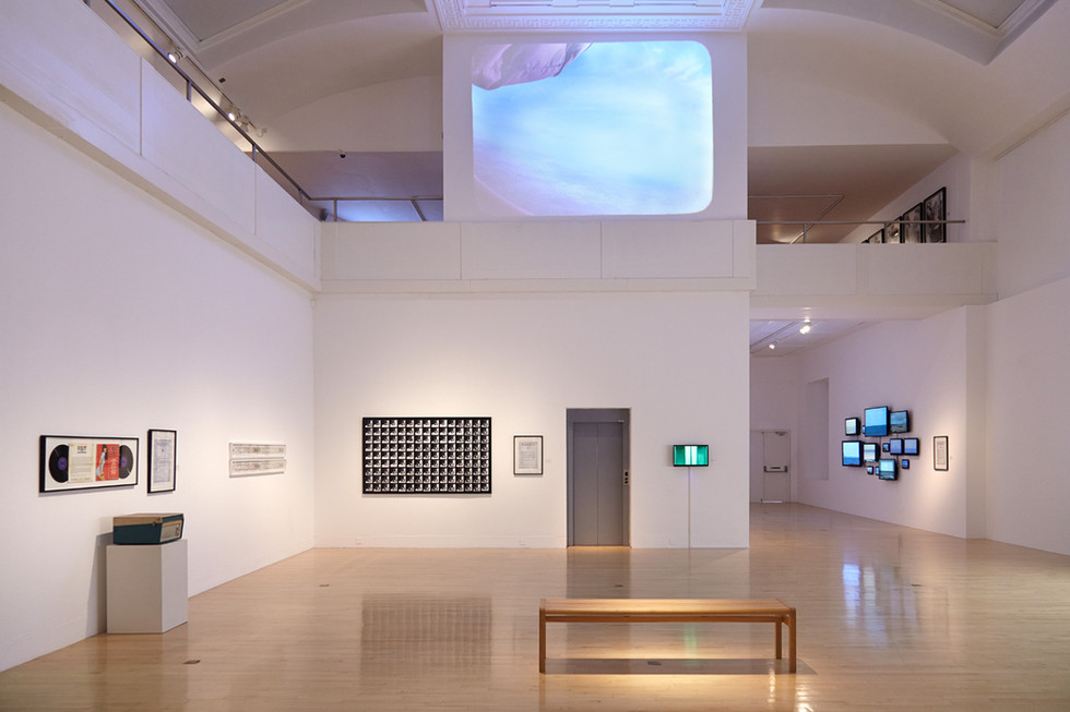 At Talbot Rice Gallery Edinburgh 2014