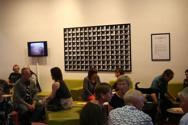 At Mead Gallery, Warwick 2012