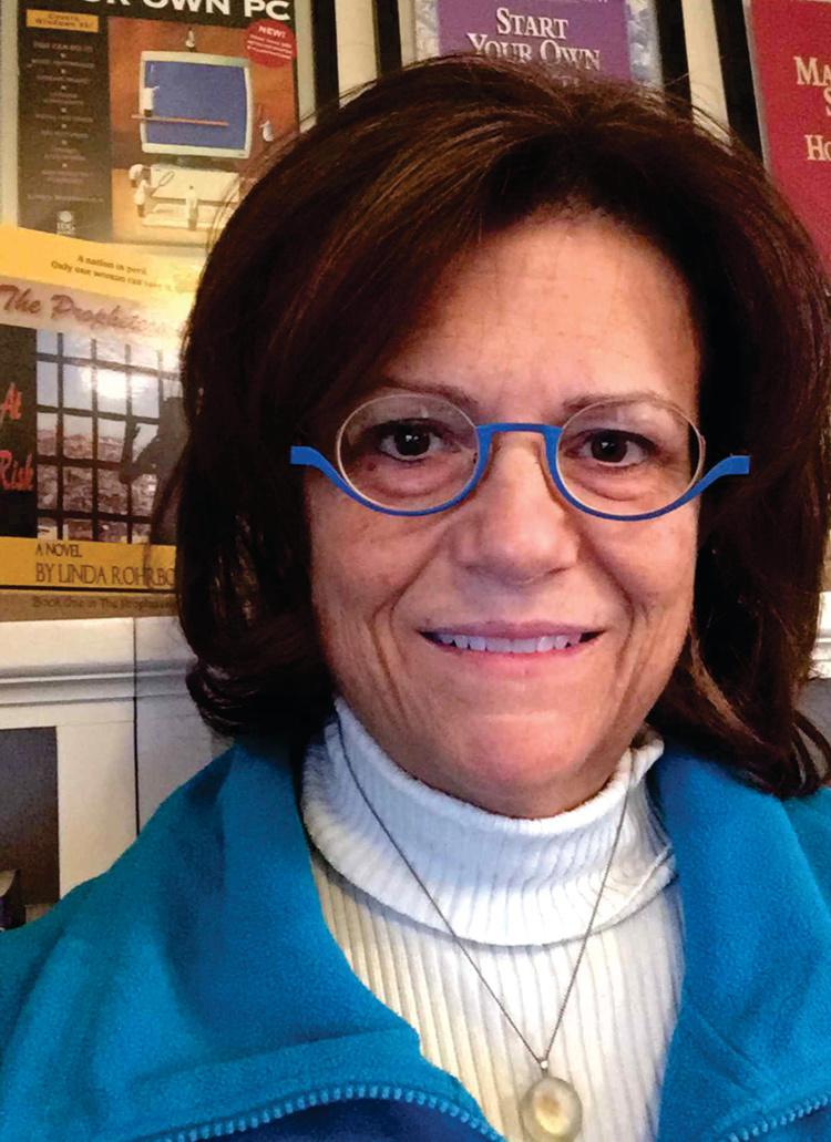 Award-winning author Linda Rohrbough