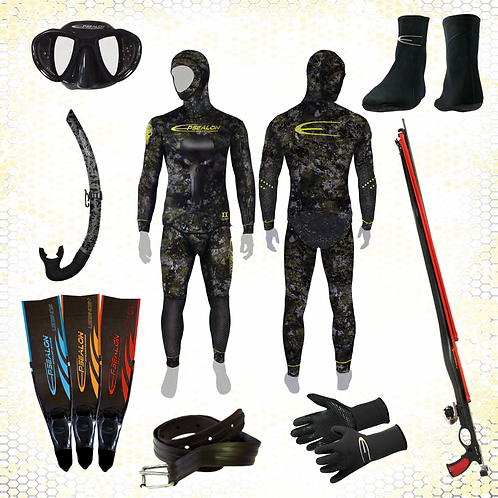 PACK OR Chasse sous-marine