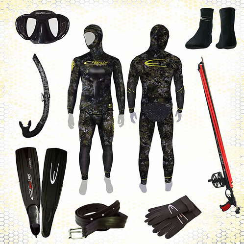 PACK ARGENT Chasse sous-marine